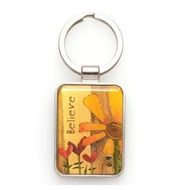 Believe - Metal Keyring Featuring 1 Thess. 2-20