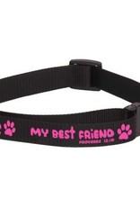 Dog Collar - My Best Friend (Pink)
