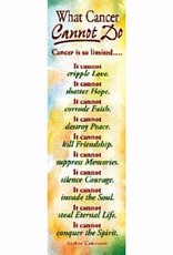 Warner Press Bookmark - What Cancer Cannot Do pkg 25