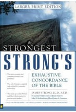 Zondervan Strongest Strong's Exhaustive Concordance/Large Print