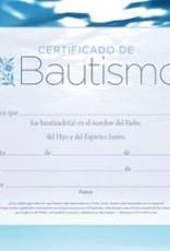 B & H Publishing Span-Certificate-Baptism w/Romans 6:3-4 (Certificado De Bautismo) (Pack Of 6)