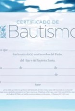 Span - Certificate Baptism (Certificado De Bautismo) (Pack Of 6)