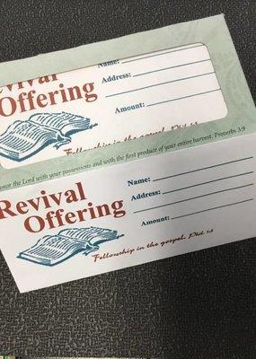 B & H Publishing Offering Envelopes Revival