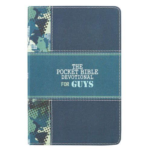Pocket Bible Devotional for Guys
