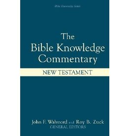 David C Cook The bible knowledge commentary new testament