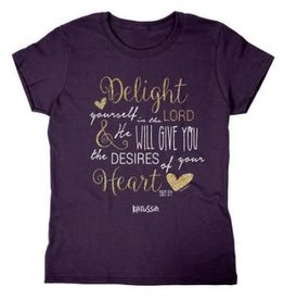 Kerusso Missy T Shirt Delight in The Lord 2X
