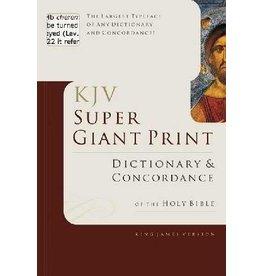 B & H Publishing KJV Super Giant Print Dictionary and Concordance