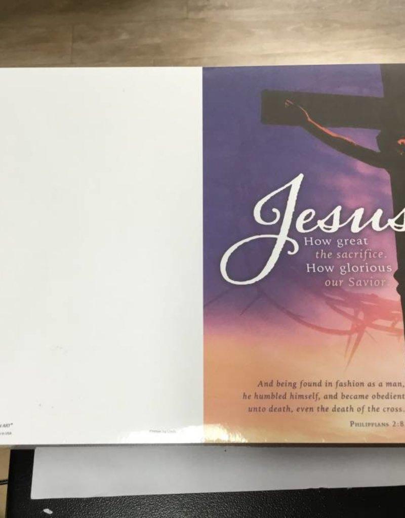 Warner Press Bulletin Jesus How Great The Sacrifice