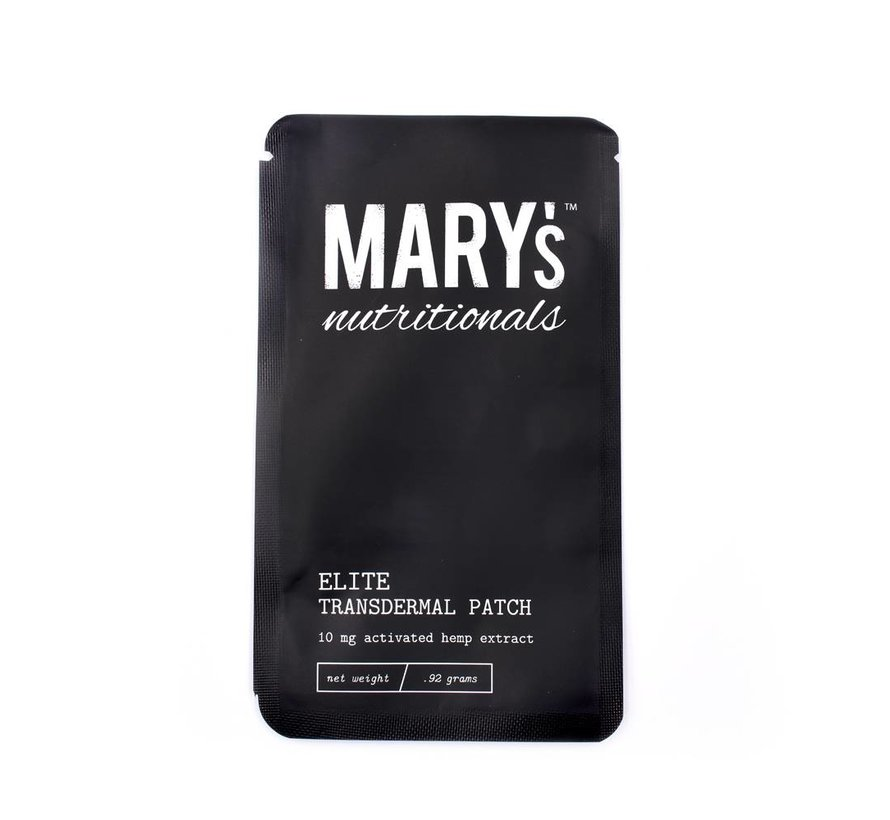 Mary's Nutritionals - Elite Patch - 10 mg