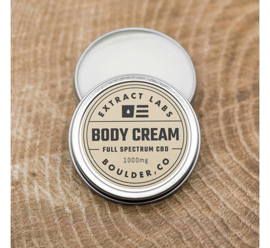 Extract Labs Body Cream 1000 mg