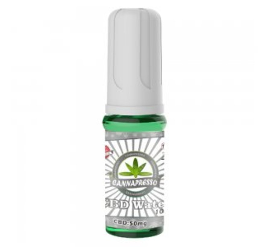 CannaPresso CBD Water 5 Pack