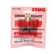 Green Roads World Green Roads Fruit and Hemp To Go 25 mg - Strawberry