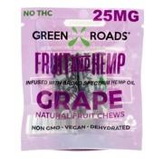 Green Roads World Green Roads Fruit and Hemp To Go 25 mg - Grape