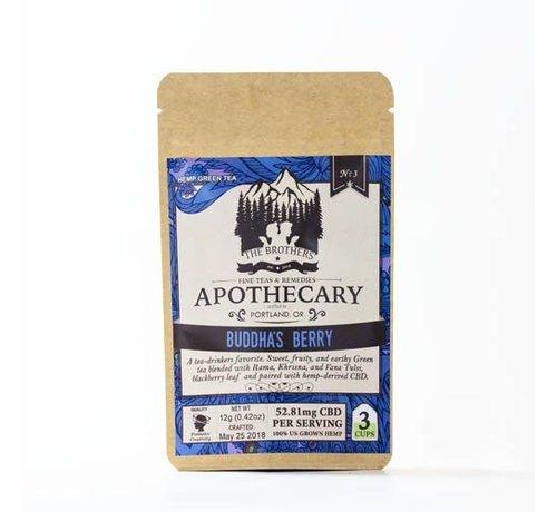 The Apothecary Apothecary CBD Tea 3pk - Buddha's Berry