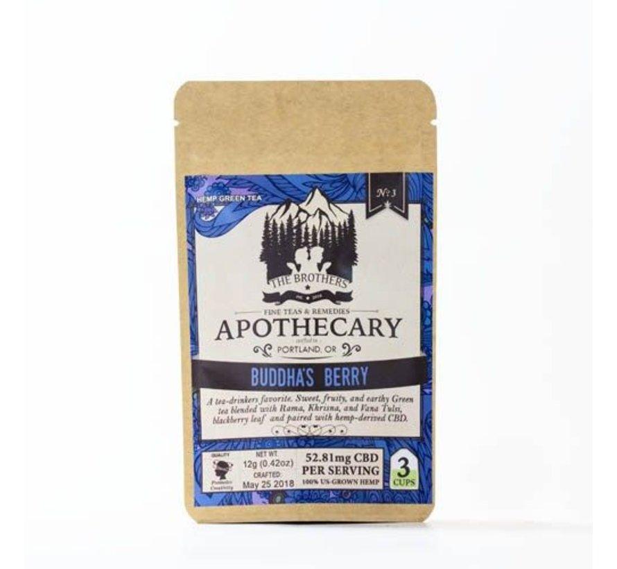 Apothecary CBD Tea 3pk - Buddha's Berry