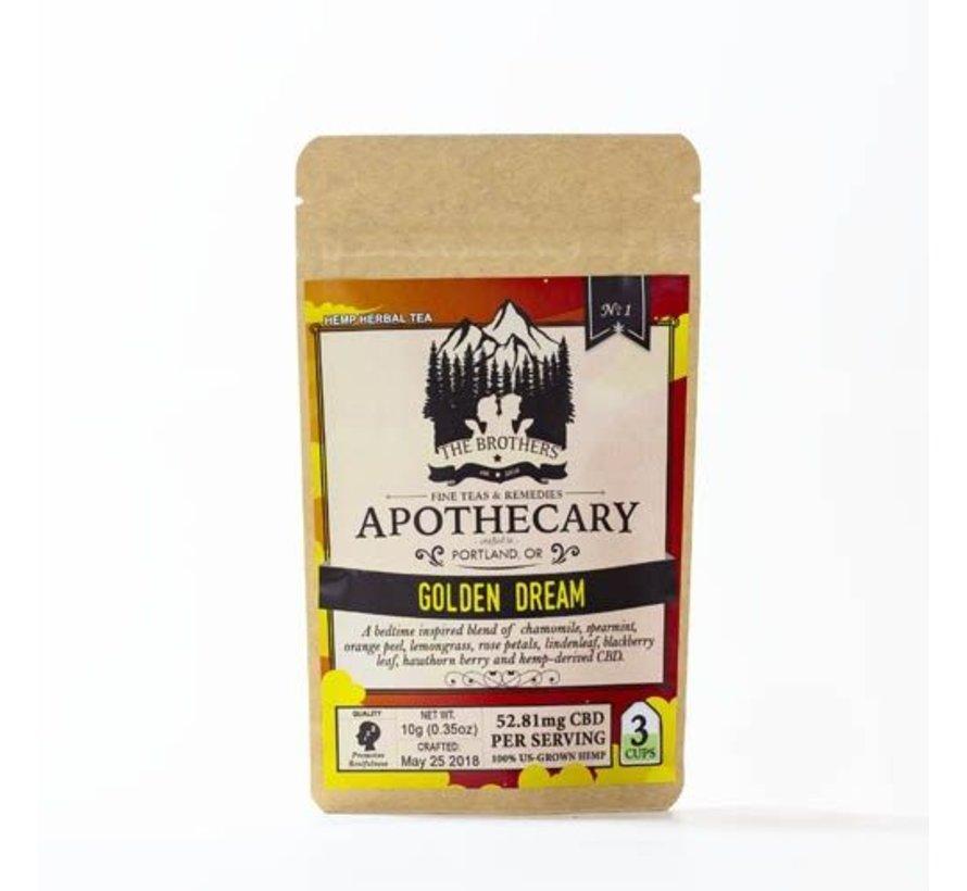 Apothecary CBD Tea 3pk - Golden Dream