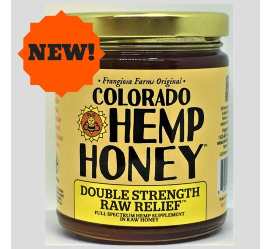 Co Hemp Honey Raw 6 oz - 1000 mg