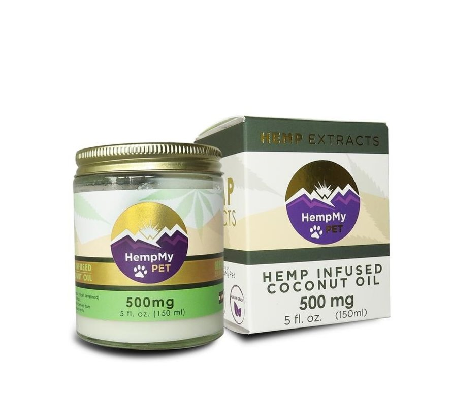 Hemp My Pet 500mg Coconut Oil