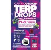 Canna Nano CBD CannaNano CBD Terp Drops - Blueberry