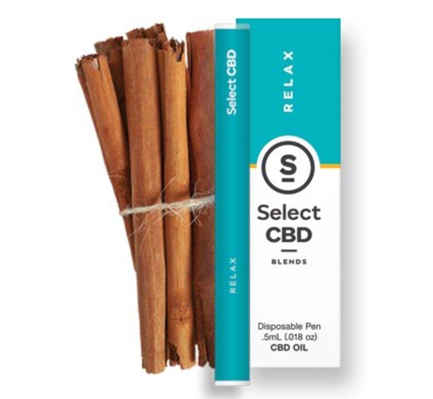 Select CBD Vape Pens - Cinnamon
