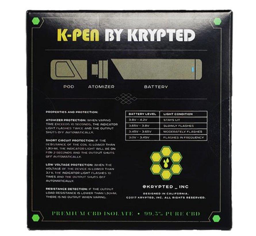 Krypted K-Pen - White Peach