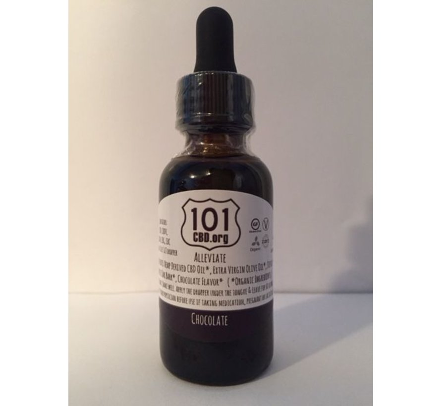 101 CBD Alleviate 300 mg - Citrus