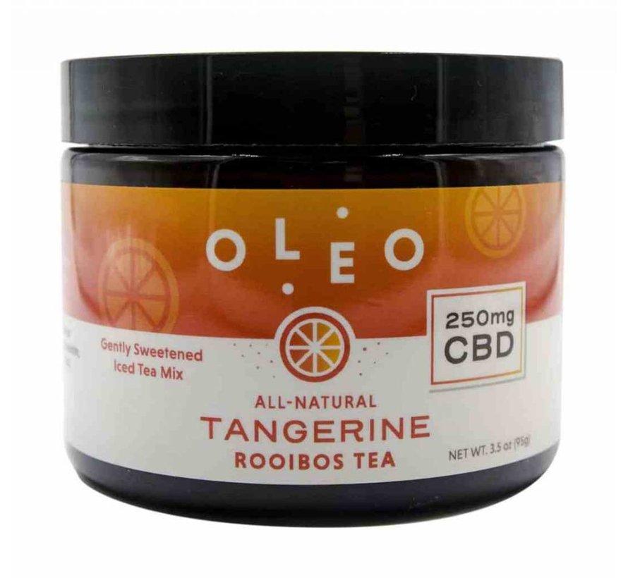 Oleo 250mg CBD Rooibos Tea - Tangerine