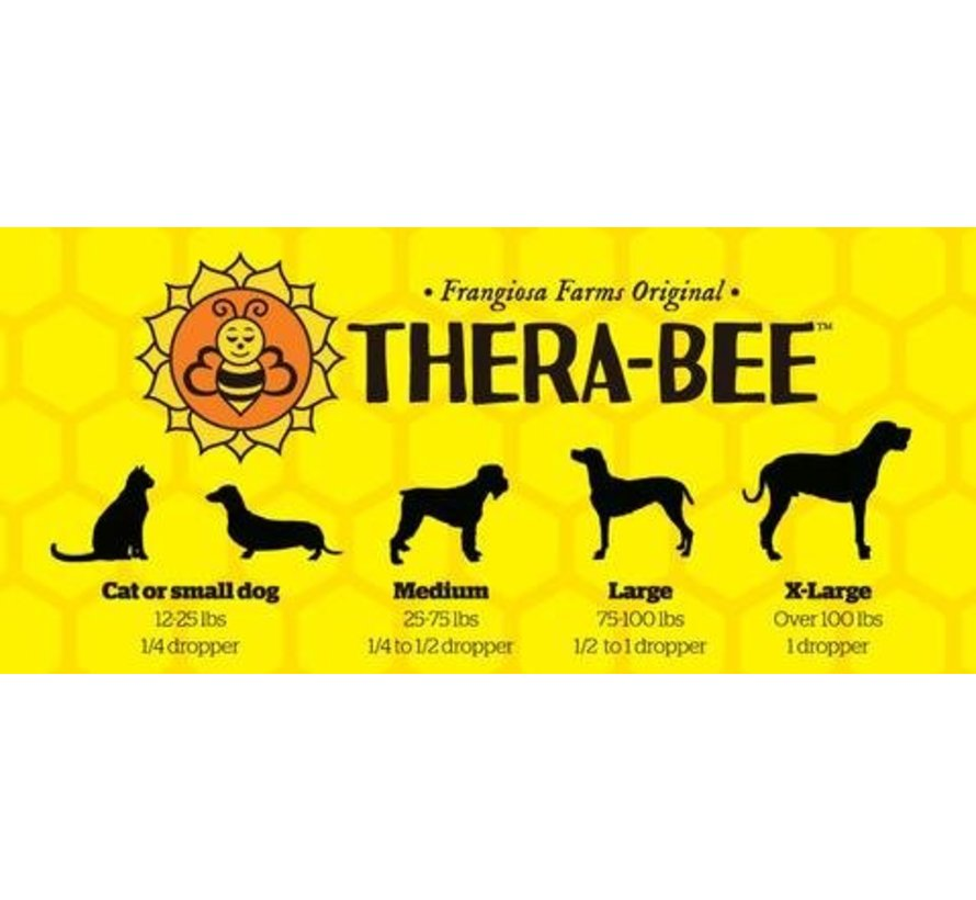 Thera-Bee Crazy Bee Gone 500mg - Bacon