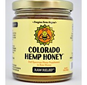 Colorado Hemp Honey Co. Hemp Honey 6 oz Jar 500 mg - Raw