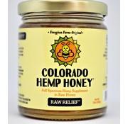 Colorado Hemp Honey Co. Hemp Honey 6 oz Jar 500 mg - Raw
