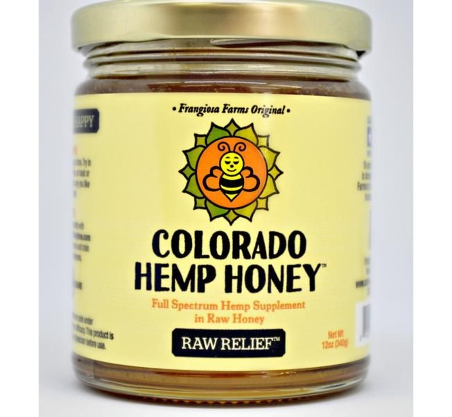 Co. Hemp Honey 6 oz Jar 500 mg - Raw
