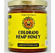 Colorado Hemp Honey Co. Hemp Honey 6 oz Jar 500 mg - Lemon
