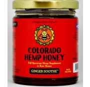 Colorado Hemp Honey Co. Hemp Honey 6 oz Jar 500 mg - Ginger