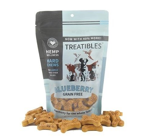 Treatibles Treatibles Blueberry Dog Biscuit - Large