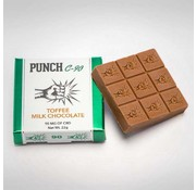 Punch Edibles Punch C-90 mg Chocolate Bars - Toffee Milk Chocolate