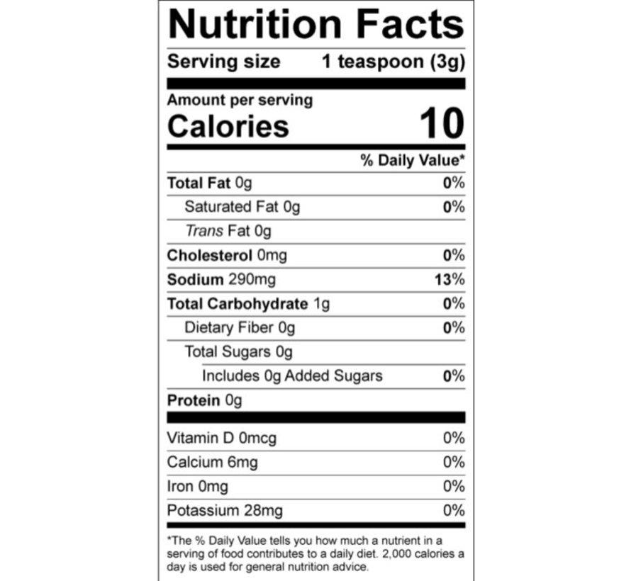 Cured CBD 100mg Spice - Blackening Seasoning