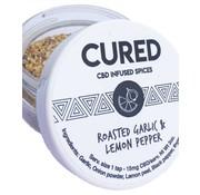 Cured Nutrition Cured CBD 100mg Spice - Roasted Garlic & Lemon Pepper