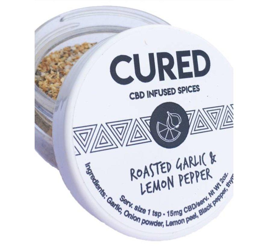 Cured CBD 100mg Spice - Roasted Garlic & Lemon Pepper