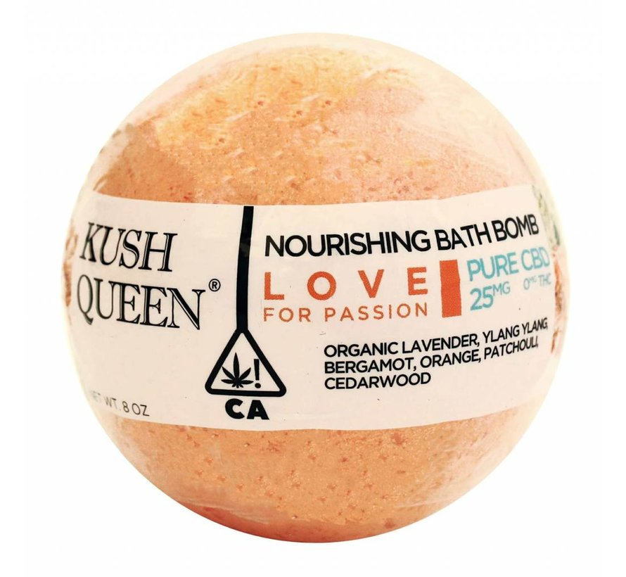 Kush Queen Love CBD Bath Bomb