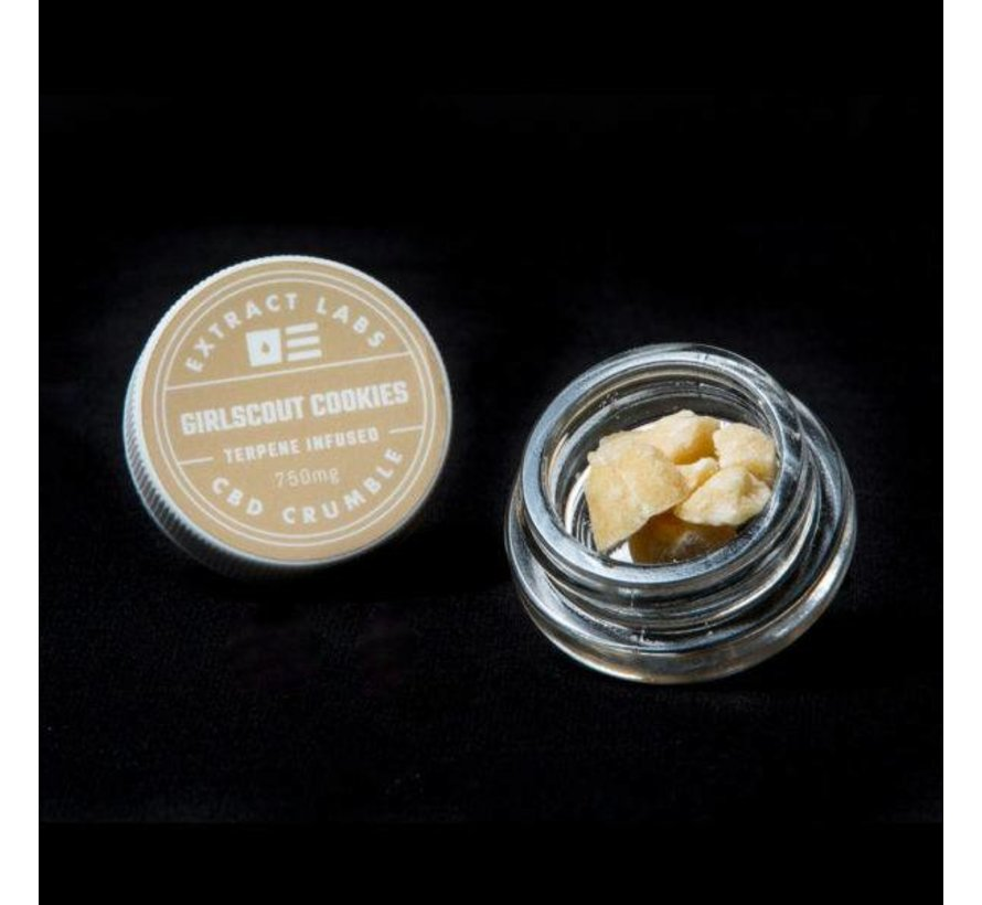 Extract Labs 750mg Crumble - Girlscout Cookies