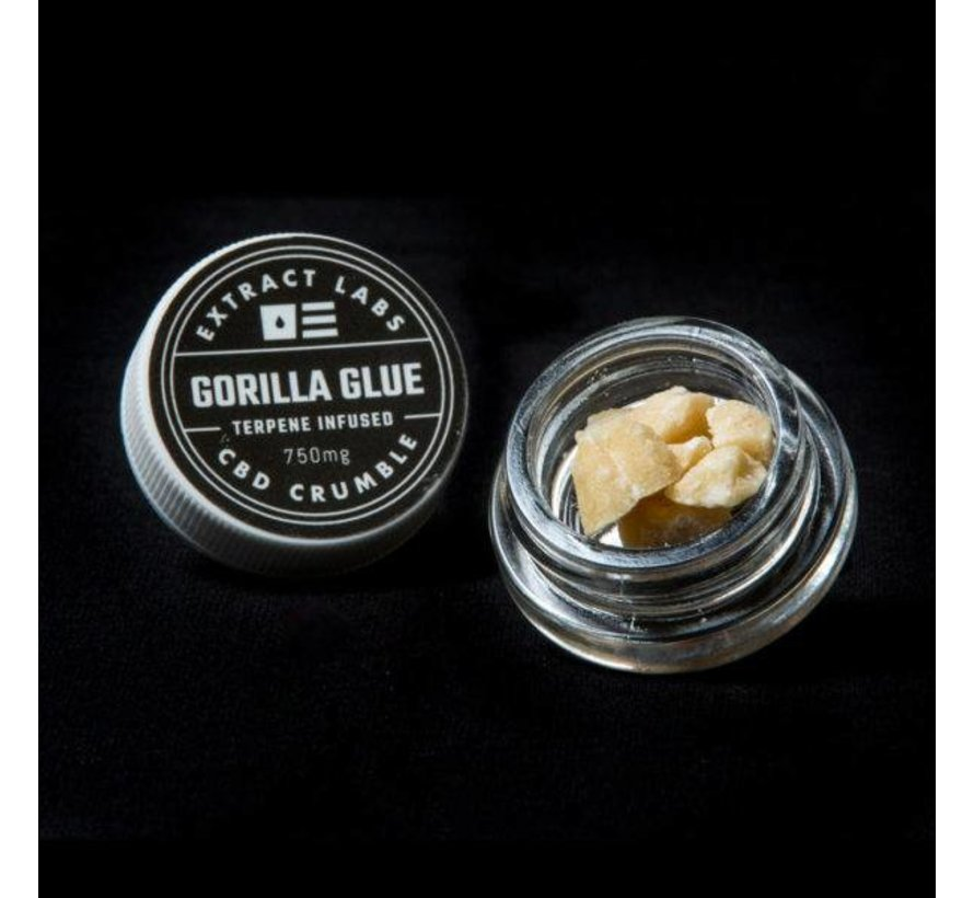 Extract Labs 750mg Crumble - Gorilla Glue