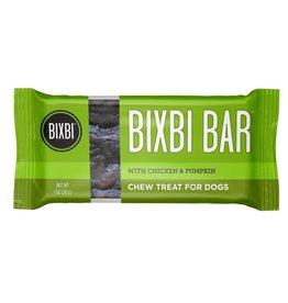 Bixbi Bixbi Dog Treat Jerky Bar Chicken & Pumpkin 6/Box