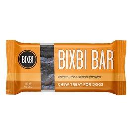 Bixbi Bixbi Dog Treat Jerky Bar Duck & Sweet Potato 6/Box