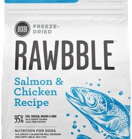 Bixbi Bixbi Dog Rawbble FD Food GF Salmon & Chicken 26 oz