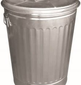 DOVER GARBAGE CAN WITH COVER 30GAL