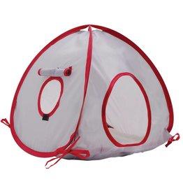Living World Tent, Medium, Gray/Red