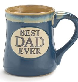 BEST DAD EVER PORCELAIN MUG W/ BOX