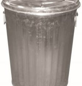 DOVER GARBAGE CAN WITH COVER 20GAL  DOVER