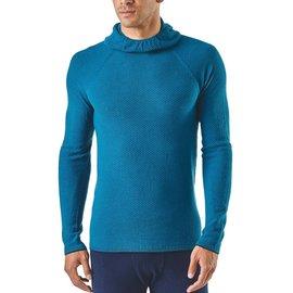 Men's Cap Air Hoody Balkan Blue Size Large