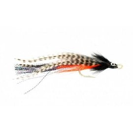 Bullet Head Baitfish Black White 5/0